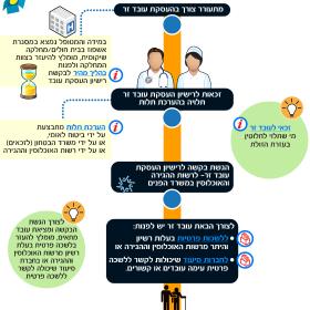 איך מקבלים רישיון להעסקת עובד זר – אינפוגרפיקה